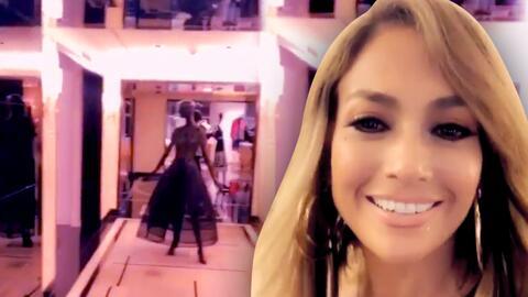 """Jennifer López recorre una tienda de ropa a las tres de la mañana: """"Es como un sueño hecho realidad"""""""