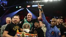 Tyson Fury revela detalles de su pelea con Anthony Joshua