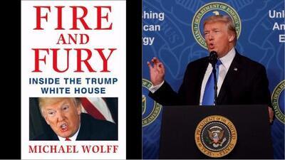 Con récords en venta, sale al mercado el polémico libro que revela intimidades de la familia Trump