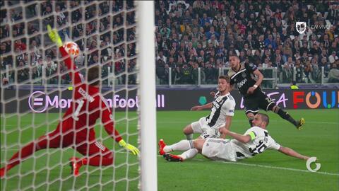 ¡Szczesny salva a la Juventus de la debacle ante el Ajax!