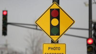 Red light cameras banned in Texas but not in this town