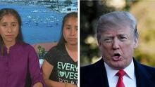 """""""No somos criminales. No somos cosas malas"""": el reclamo de dos niñas hispanas a Trump"""