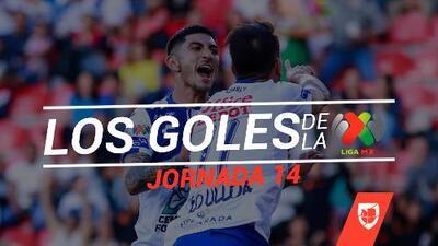 Revive los goles de la Jornada 14 del Clausura 2019