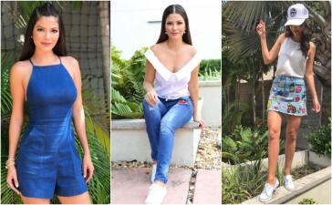 Ana Patricia fashion: Así combina sus jeans y prendas de mezclilla