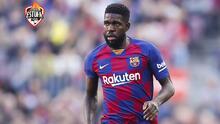 Las opciones de Samuel Umtiti para dejar al Barcelona