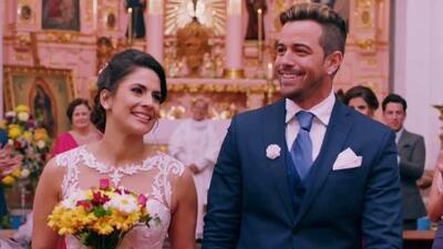Juanjo se casó con Wendy ante los ojos de Yamelí