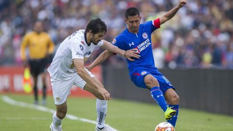 Cruz Azul y Pumas se verán las caras en un duelo con distintas aspiraciones