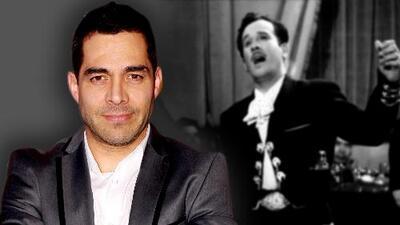 Omar Chaparro se ríe de quienes lo odian por interpretar a Pedro Infante