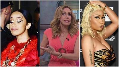 """""""¿¡Qué es esto!?"""": Lili Estefan indignada con la """"cochinada"""" que Cardi B hizo en el New York Fashion Week"""