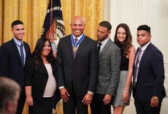Mariano Rivera es reconocido con la 'Medalla Presidencial de la Libertad'