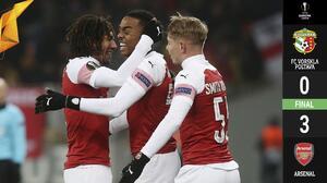 Facilito y caminando, Arsenal derrotó al Vorskla y ya piensa en los dieciseisavos