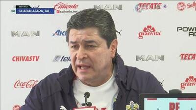 """Luis Fernando Tena: """"Me dijeron que están contentos conmigo"""""""