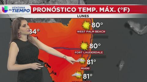 Ventana al Tiempo: Condiciones secas y cielos mayormente soleados este lunes en Miami