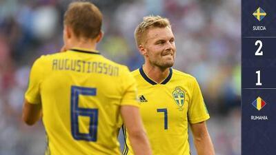 Suecia 2-1 Rumanía - GOLES Y RESUMEN - ELIMINATORIAS - Eurocopa 2020