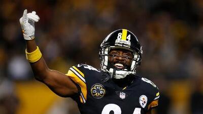 Pittsburgh Steelers no cambiaría a Antonio Brown con un rival directo
