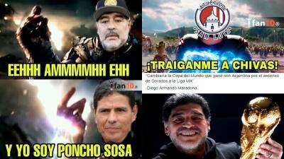 Burlas a Diego Maradona y más memes del ascenso del Atlético San Luis