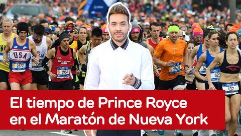 Así le fue al cantante Prince Royce en el Maratón de Nueva York