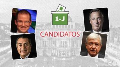 Estos son los candidatos a la presidencia de México