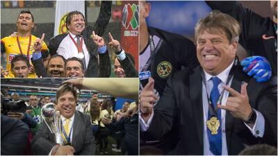Los consentidos del Piojo: como entrenador, Herrera ha logrado tres títulos y todos con el América