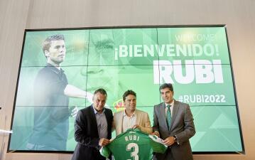 Presentan a Rubi como nuevo entrenador del Betis