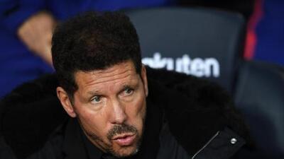 """Diego Simeone sale en defensa de Diego Costa: """"La sanción me parece exagerada"""""""