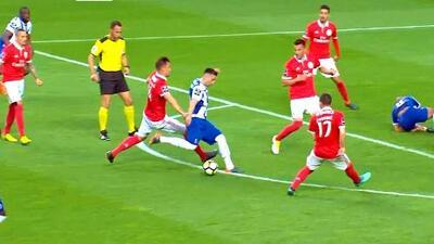 Este es el golazo de Héctor Herrera que tiene al Porto en la cima de Portugal