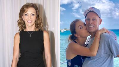 📸 Tras fracasar en tres matrimonios, Laura Flores le dice sí al amor y a una cuarta boda