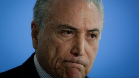 El expresidente de Brasil Michel Temer es arrestado por cargos de corrupción
