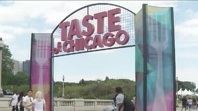 Llega una nueva versión del festival gastronómico 'Taste of Chicago' y estas son las novedades para este año