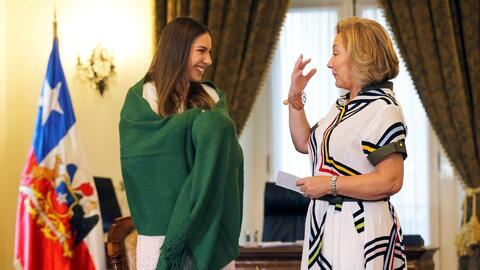 Fabiana Rosales, esposa de Juan Guaidó, agradece a el apoyo de Chile a los venezolanos