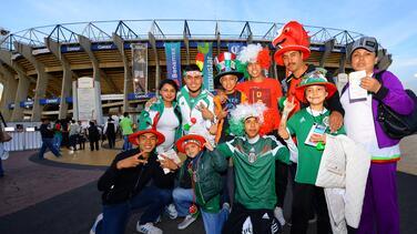 La afición mexicana repitió el grito de ¡Pu...! en el Estadio Azteca