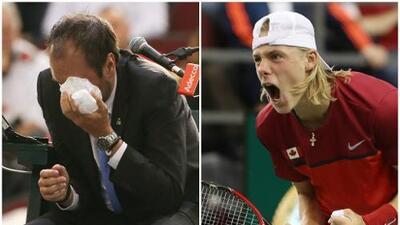 Increíble: Canadá quedó eliminada de la Copa Davis por pelotazo al juez