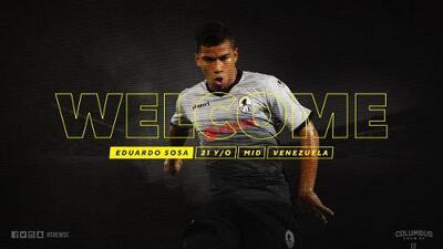 Columbus Crew se suma a la fiebre MLSera de fichar joven talento venezolano con Eduardo Sosa