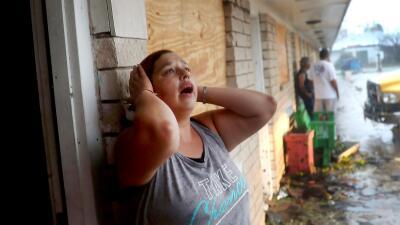 Rockport, el epicentro de la destrucción dejada por Harvey (FOTOS)