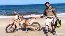 A Bordo desde Baja California Sur y sobre una KTM 450