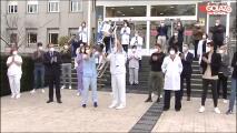Real Sociedad ofrece Copa del Rey al personal sanitario
