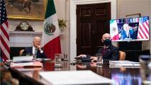 Estos fueron los tres temas centrales de la primera reunión virtual entre Joe Biden y López Obrador