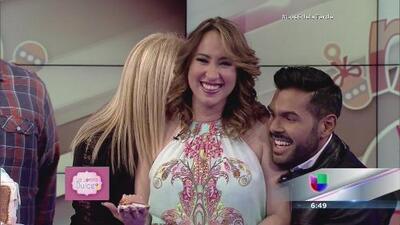 Milly Méndez será madre de una niña
