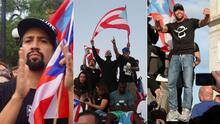 Famosos que marcharon en el Viejo San Juan para pedir la renuncia de Ricardo Rosselló