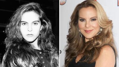 Mira cómo ha cambiado Kate del Castillo a través del tiempo