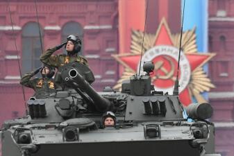 En fotos: Rusia muestra el poderío de su arsenal militar para celebrar su victoria sobre los nazis
