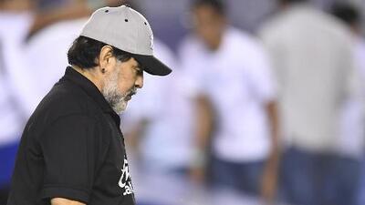 "Diego Maradona: ""Créanme que yo estoy triste hoy"""