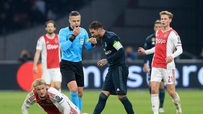 UEFA no tuvo piedad... Sergio Ramos castigado dos partidos