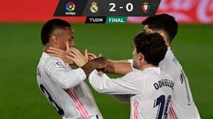 Real Madrid sigue en la pelea por el título a ritmo de samba