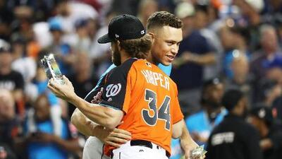 Aaron Judge cambiaría de posición si los Yankees firman a Harper