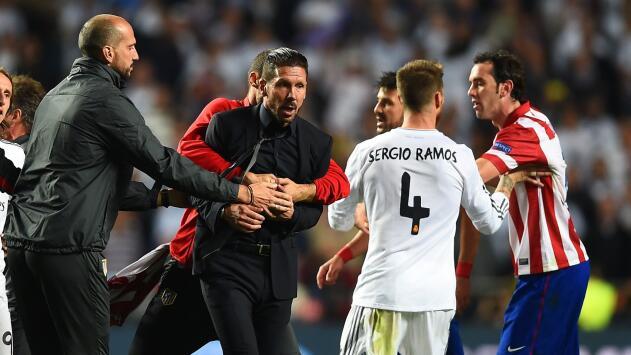 Sergio Ramos revela su admiración por el técnico del Atlético de Madrid