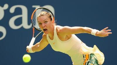 La número 1 mundial, Simona Halep, sufre una hernia discal