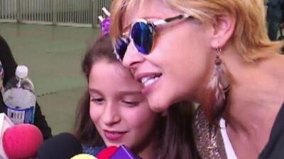 La hija de Itatí Cantoral debuta como actriz interpretando a un miembro de la dinastía Pinal