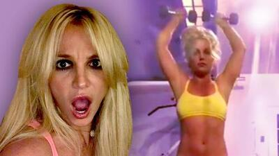 Britney Spears vuelve al gimnasio y dice que perdió 5 libras con el estrés