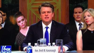 El actor Matt Damon recrea a un rabioso juez Kavanaugh en 'Saturday Night Live'